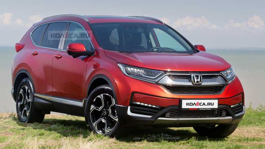 2020 Honda CR-V Facelift Rendered Based On Spy Shots
