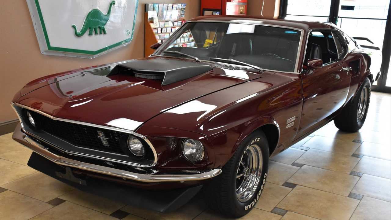 True Z-Code 1969 Ford Mustang Boss 429 Is A Rare Find
