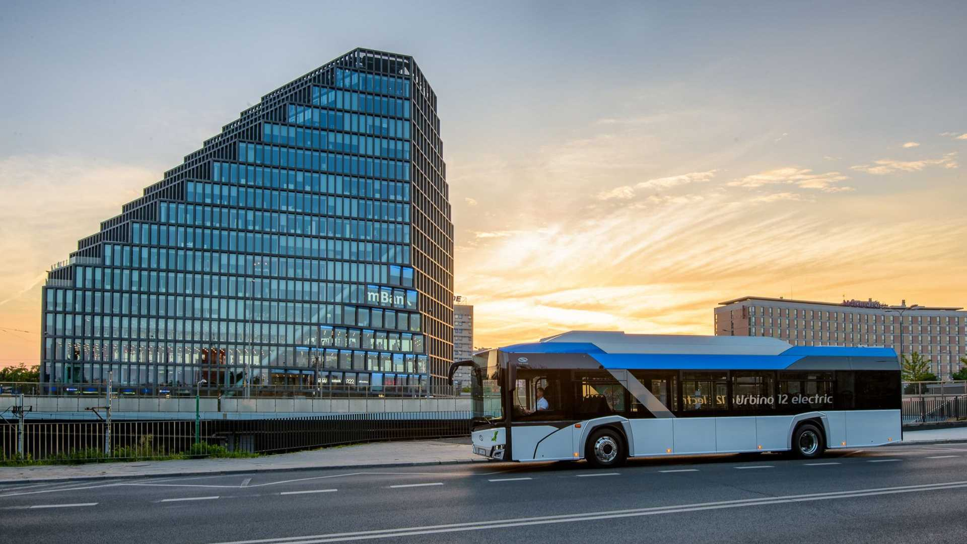 Solaris Takes 25% Share Of European EV Bus Market This Year