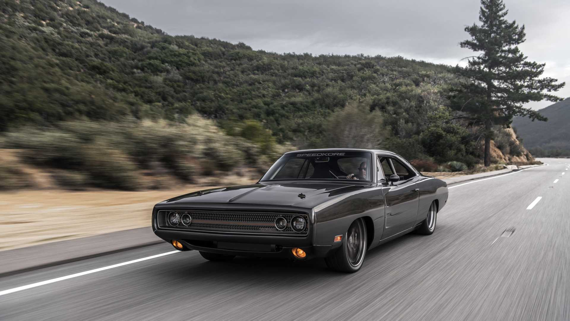 "[""SpeedKore Brought 1970 Dodge Charger To McCall's Motorworks Revival""]"