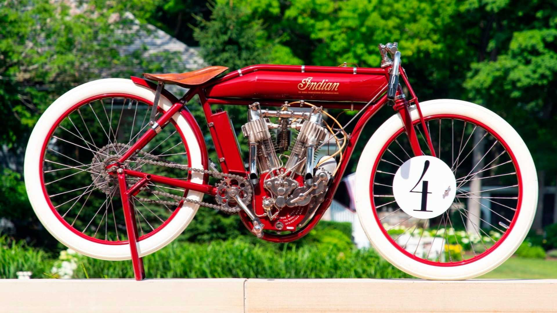 1912 Indian Board Tracker Goes 100+MPH Into Your Heart At Auction
