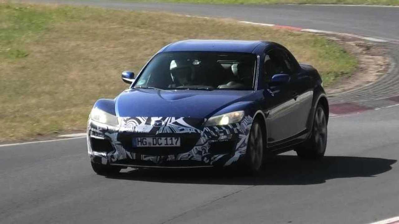 Mazda RX-8 Nurburgring Testing