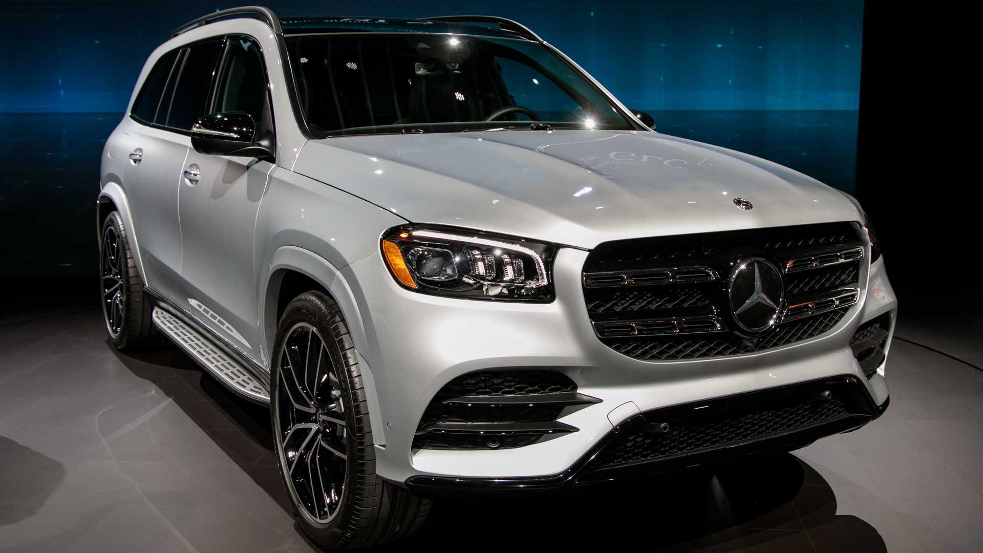 2020 Mercedes-Benz GLS Debuts With Twin-Turbo V8, Room For ...