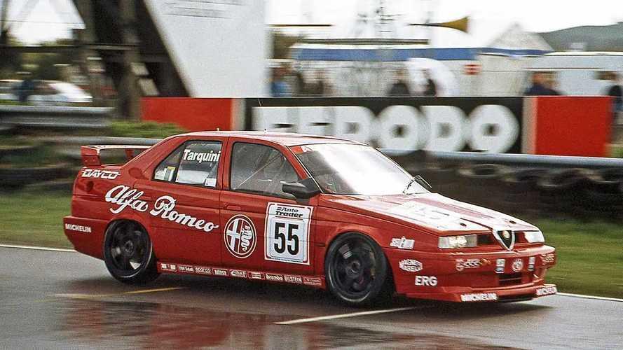 Alfa Romeo 155, le foto storiche