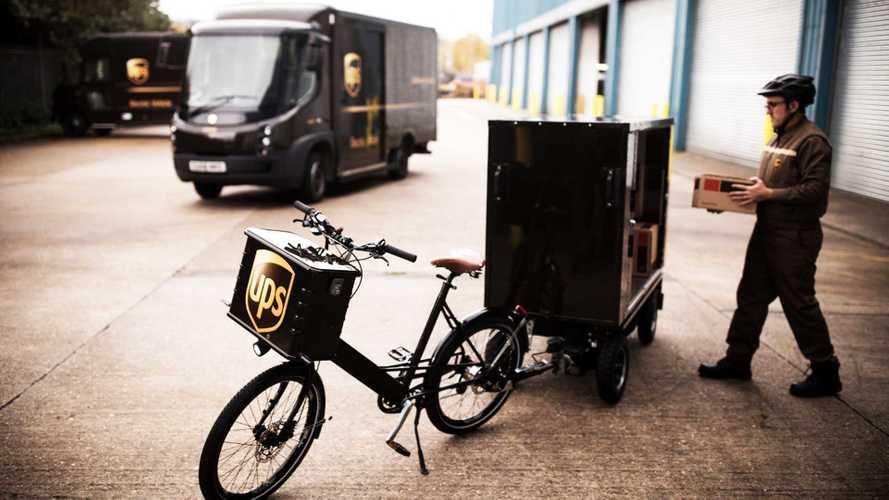 Le soluzioni UPS per consegne in città più sostenibili