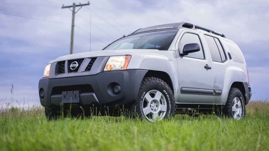 2005 Nissan Xterra with GM V8 for sale