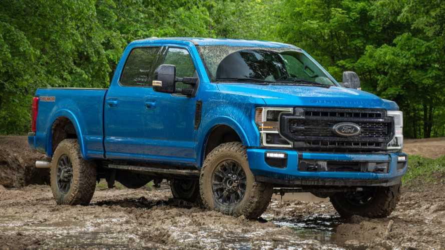 2020 Ford F-Series Super Duty Gets Rugged Tremor Off-Road Package