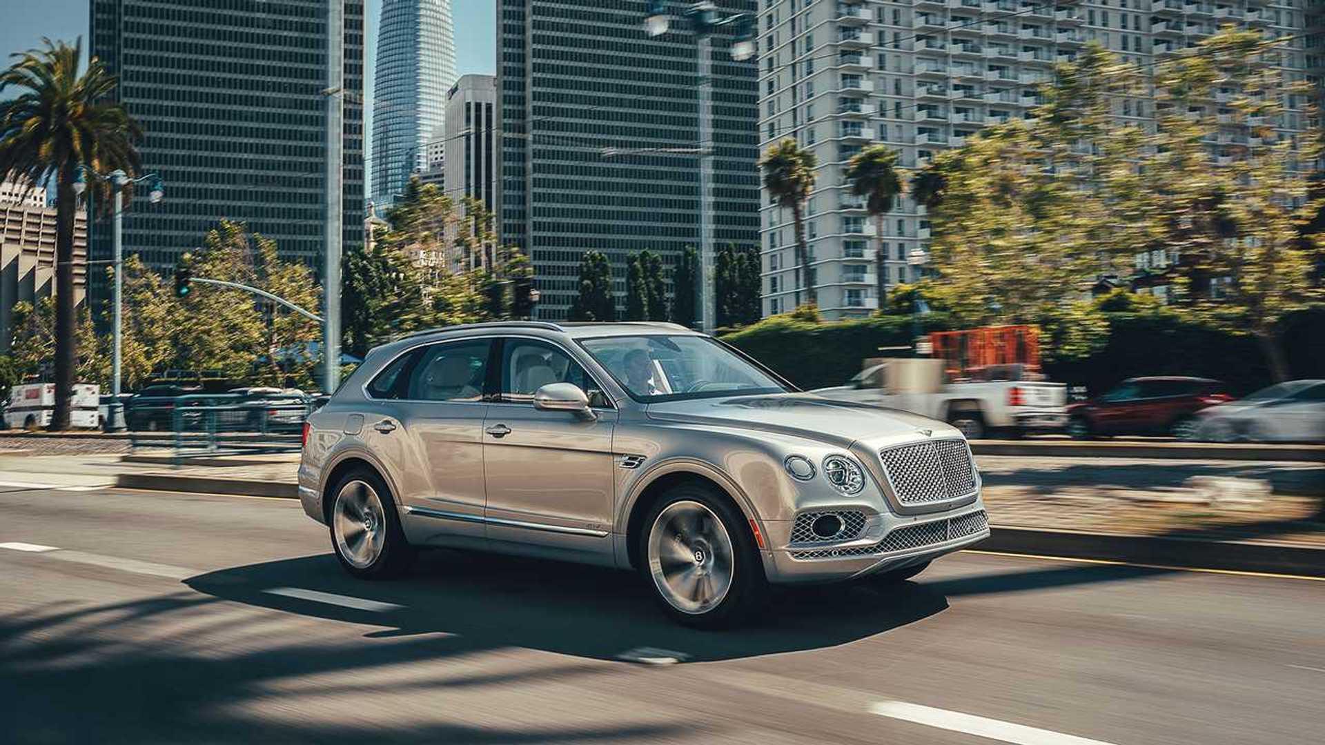 Bentley Bentayga Hybrid: Das Monster-SUV wird elektrifiziert