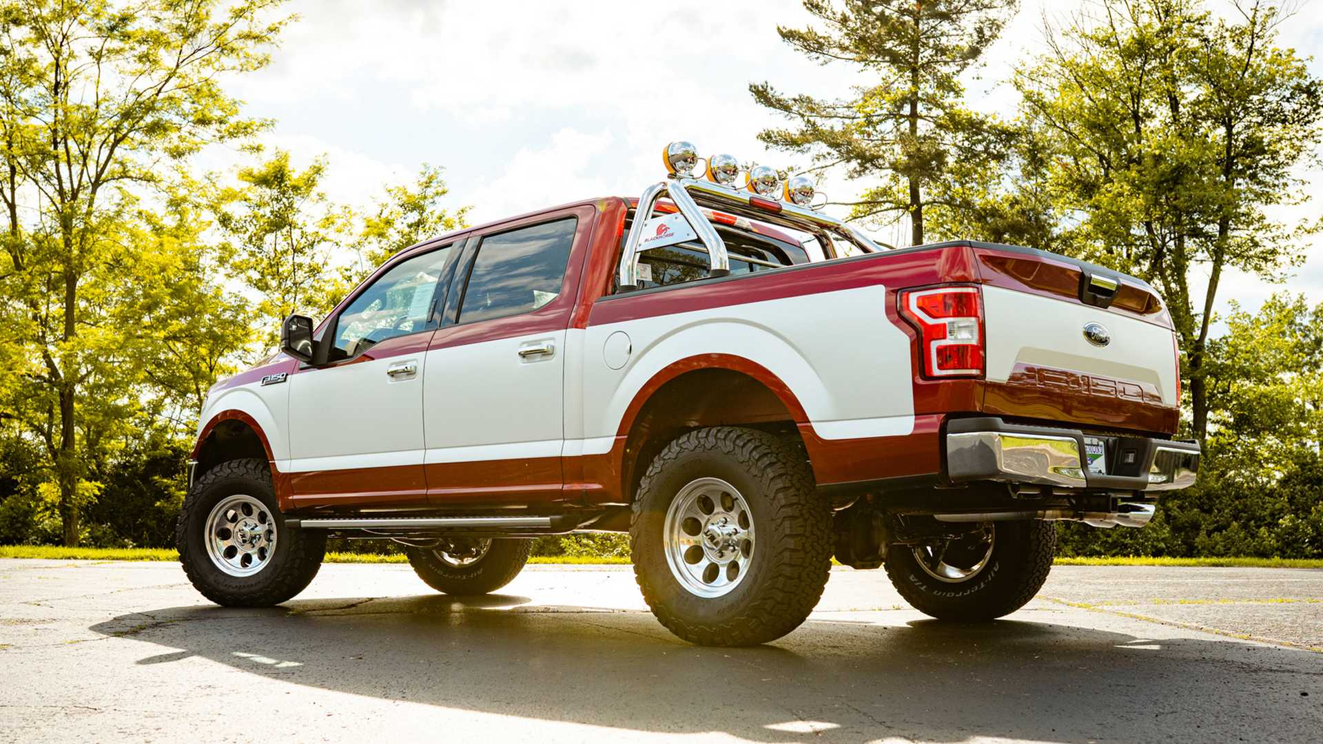 Ford F 150 Embraces The 1980s With Dealer Installed Retro Package