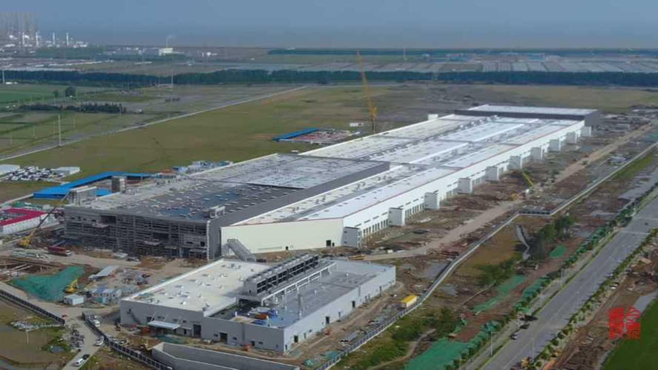 Tesla Gigafactory 3 (Source: 烏瓦)