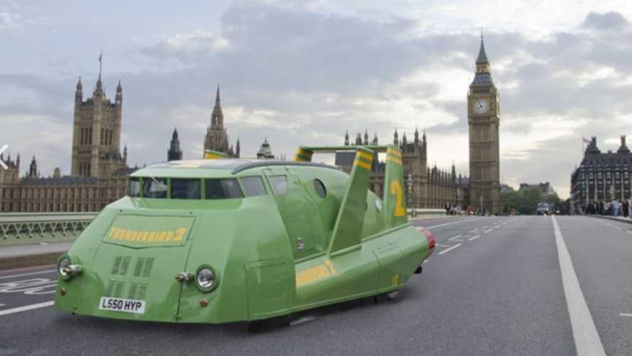 This 1994 Toyota Has Been Turned Into Thunderbird 2