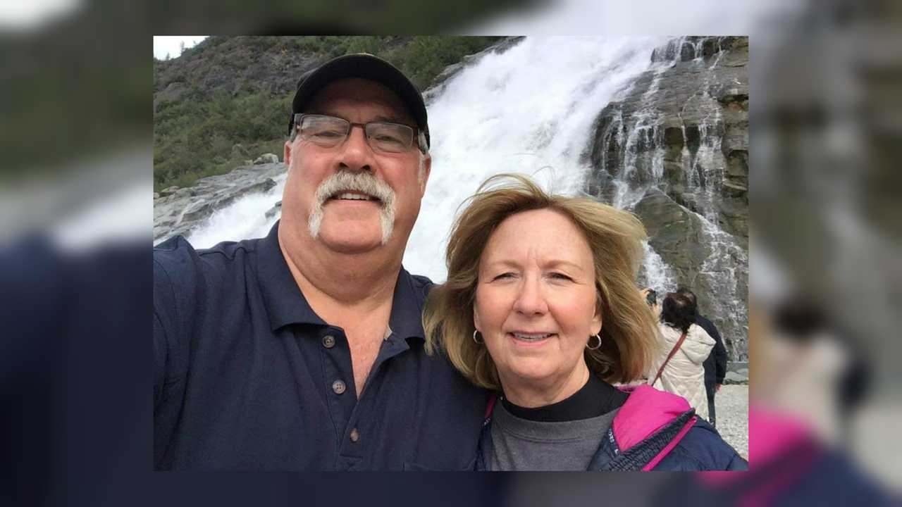 South Dakota Motorcyclist Couple
