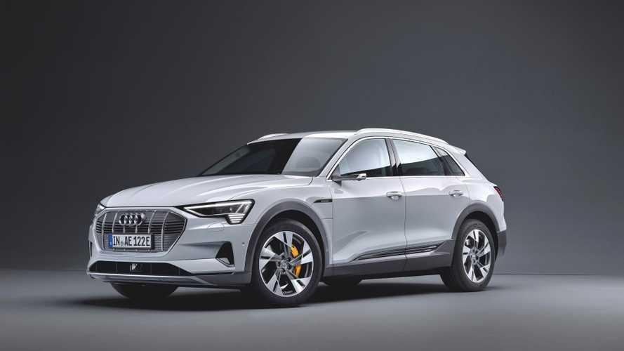 Audi e-tron 50 quattro, ecco la entry level da 300 km