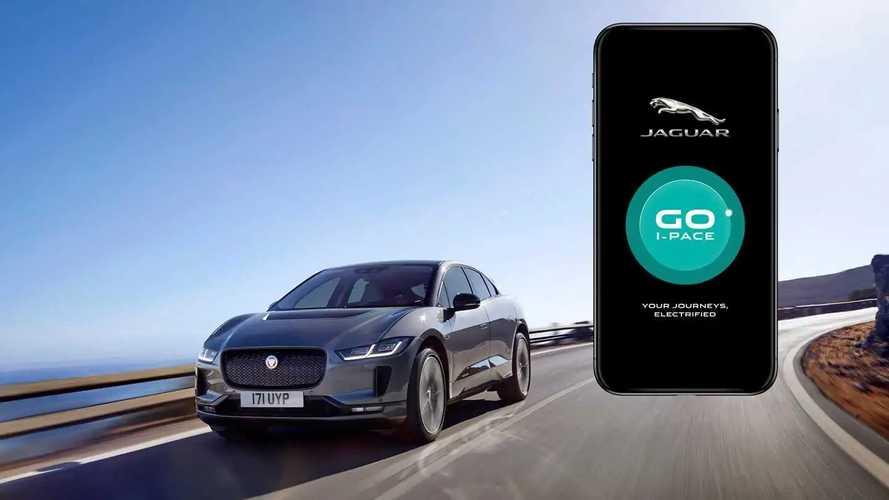 Jaguar GO I-Pace, l'app ti aiuta per le percorrenze dell'elettrica