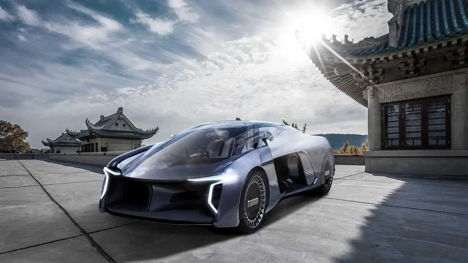 Human Horizons Presented The Wrong Car Meet The Concept H