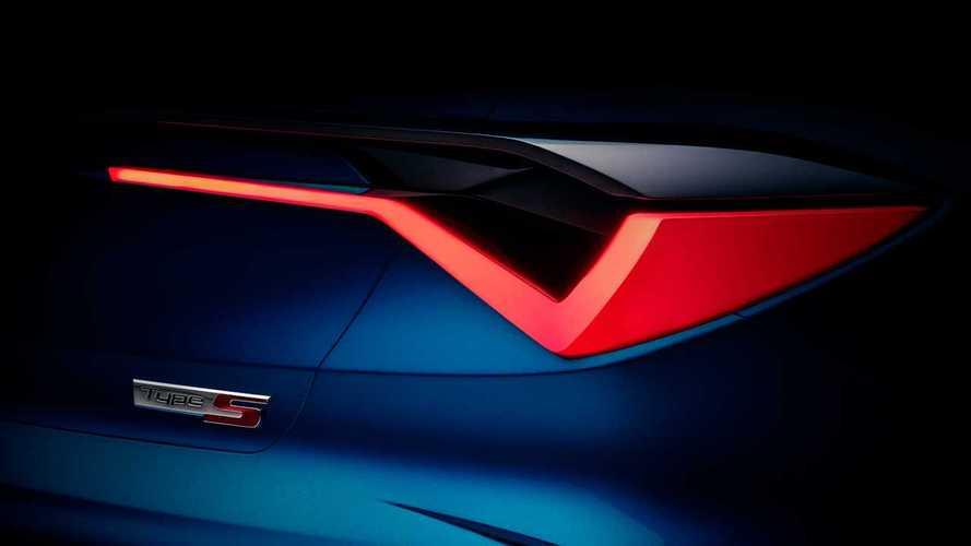 Тизеры концепта Acura Type S