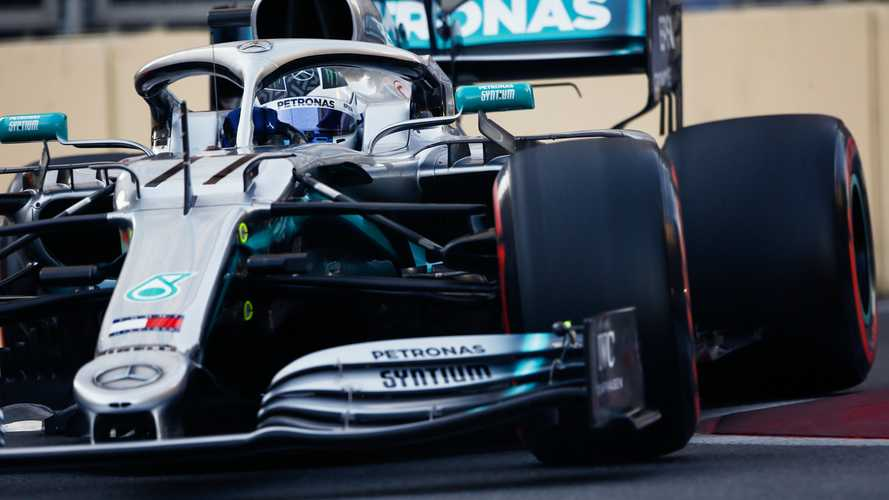 Azerbaijan GP: Bottas beats Hamilton to pole, Leclerc crashes