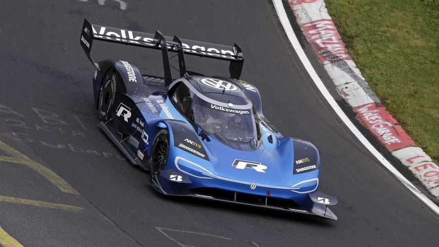 VIDÉO - Le record de la Volkswagen ID. R sur le Nürburgring