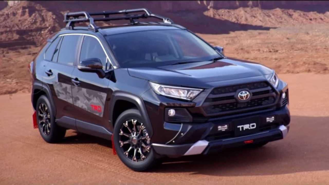 Toyota RAV4 Modellista & TRD Look Great On & Off Road