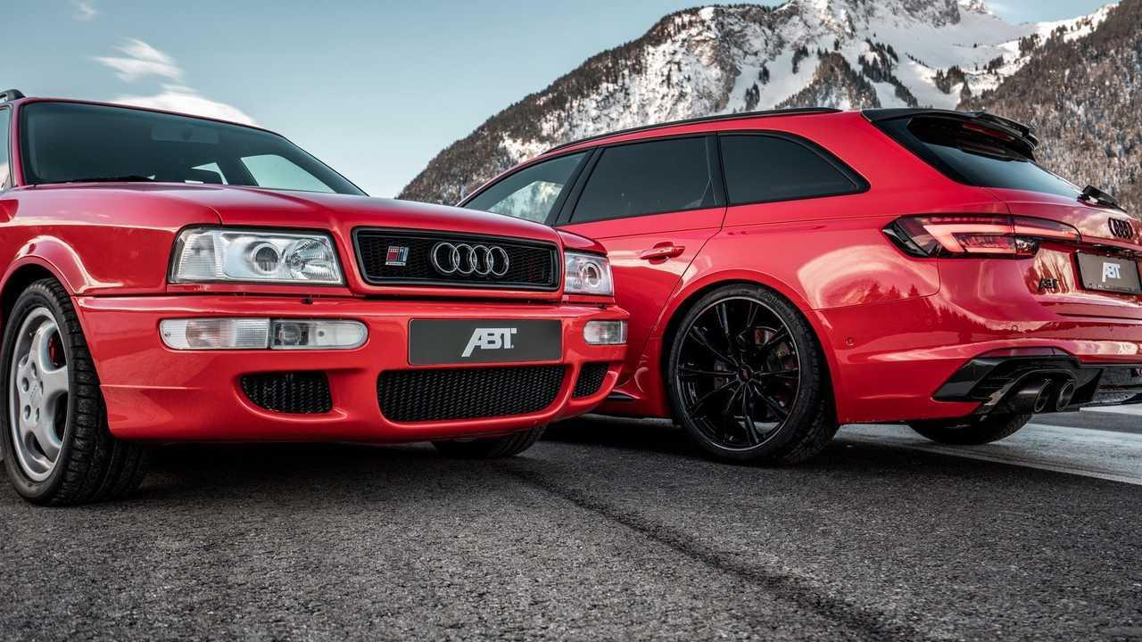 ABT Audi RS2 és RS4 Avant