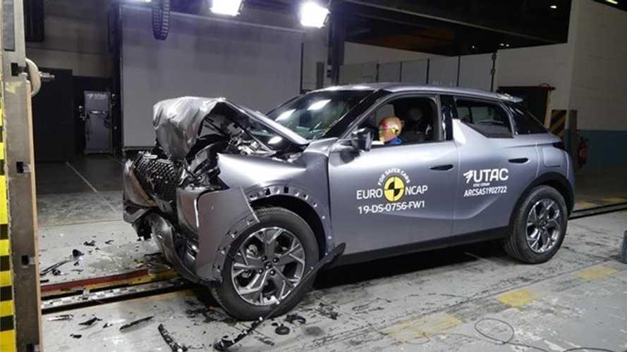 Le DS 3 Crossback et cinq autres nouveautés à l'épreuve du crash-test