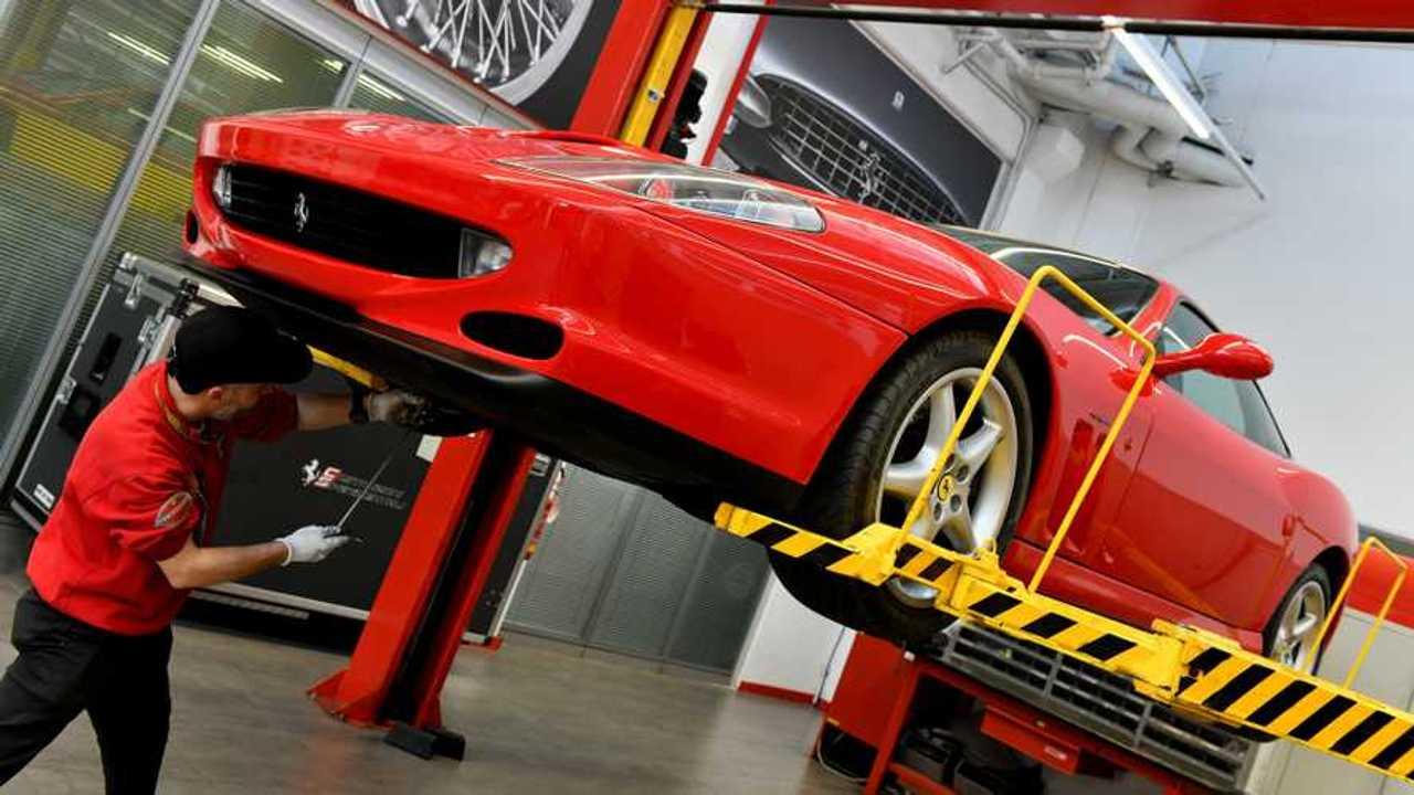 Ferrari Premium maintenance scheme