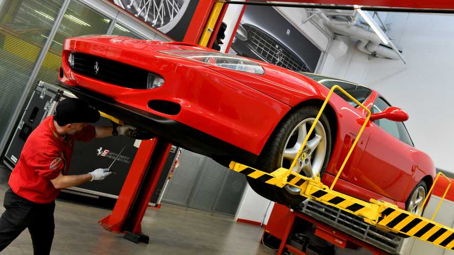 Classic Ferrari owners offered Premium service plan