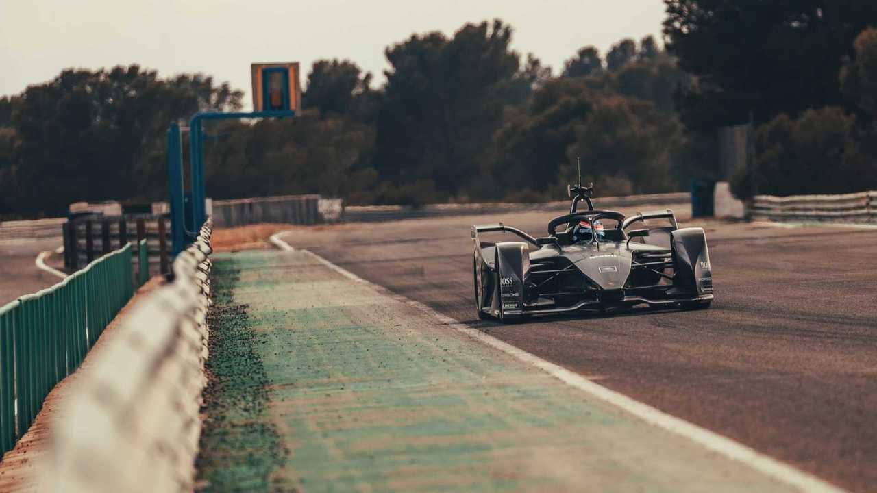 La Porsche de Formule E