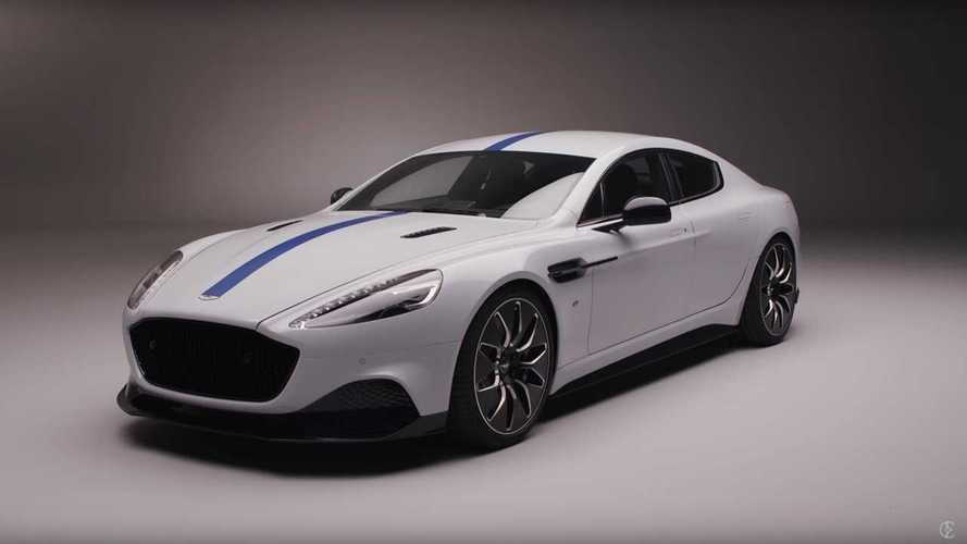 Aston Martin Rapide E Debuts At 2019 Shanghai Auto Show: Video