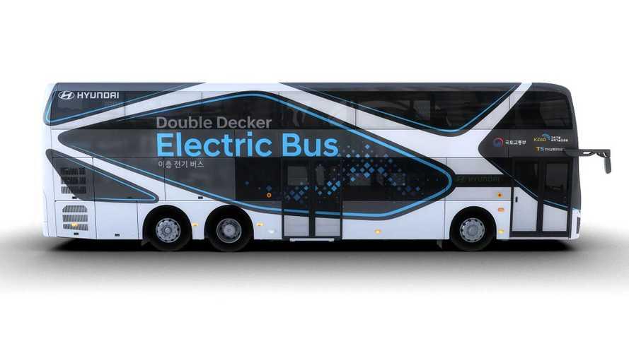 Hyundai electric double-decker bus