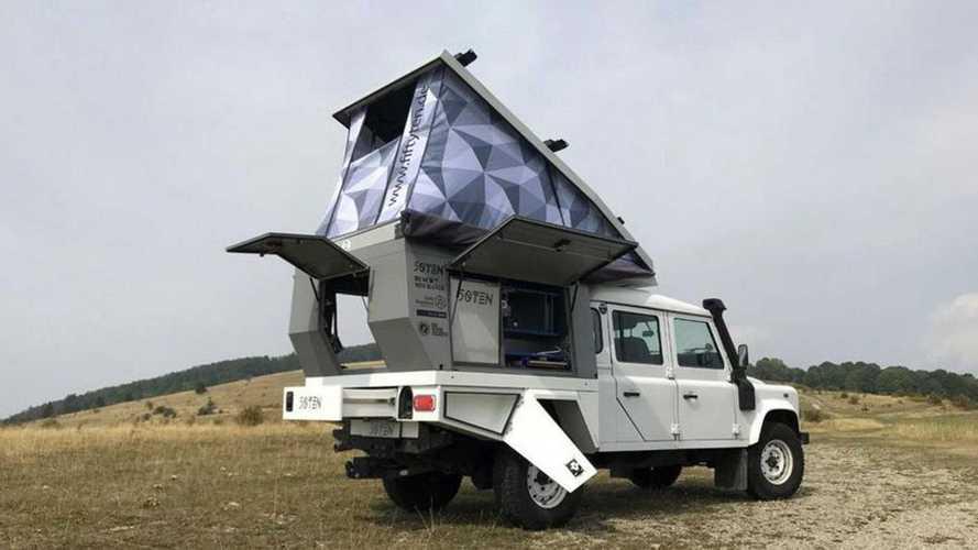 Fifty Ten, arriva negli USA la proposta per campeggiare in pick-up