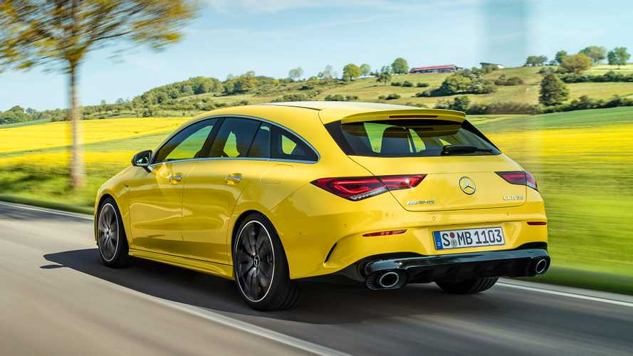 Mercedes-AMG CLA 35 Shooting Brake'in videoları geldi