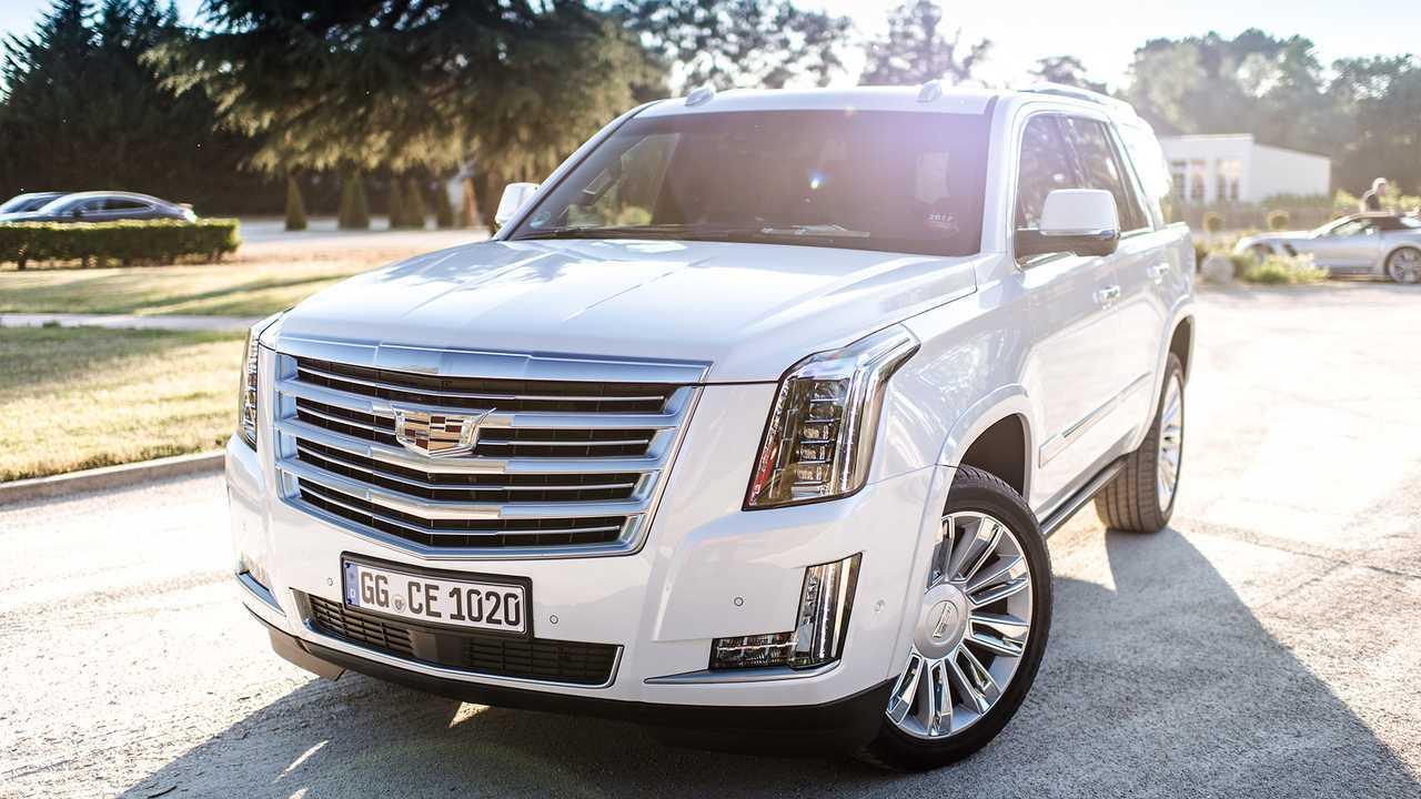Autos mit krassem Grill: Cadillac Escalade