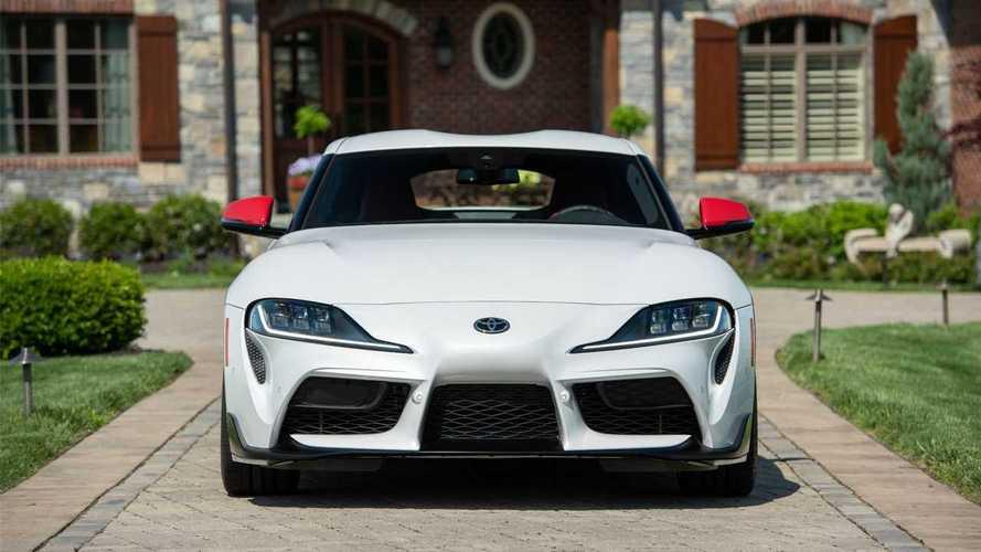 La Supra se voit rappeler par... BMW