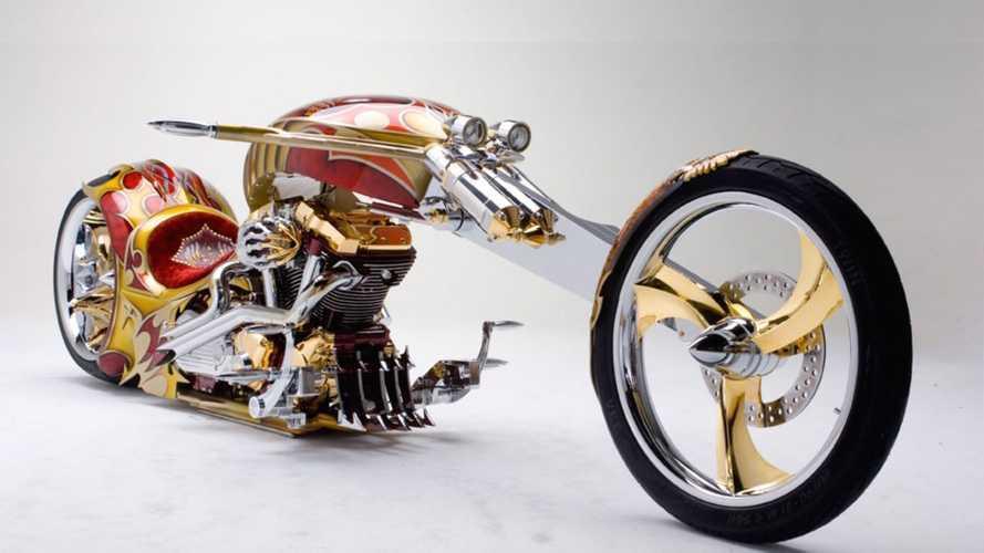 Cycleweird: Real Gaudy, Real Gold, The Nehmesis Road Star Chopper