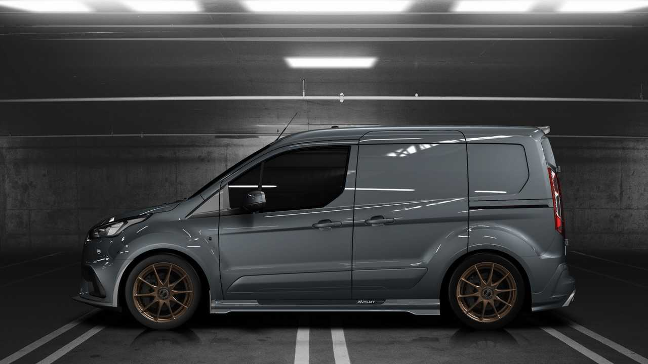 Ms Rt Ford Transit Connect Is A Diesel Powered Monster Van