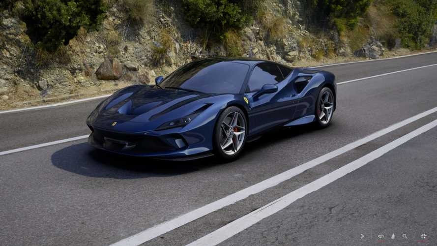 Configurez la Ferrari F8 Tributo de vos rêves