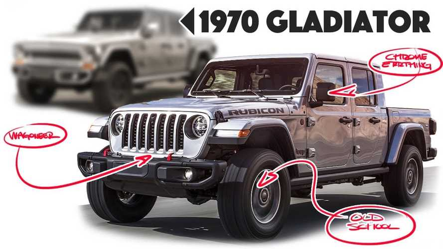 Jeep Gladiator Gets 1970s Makeover And It Looks Awesome