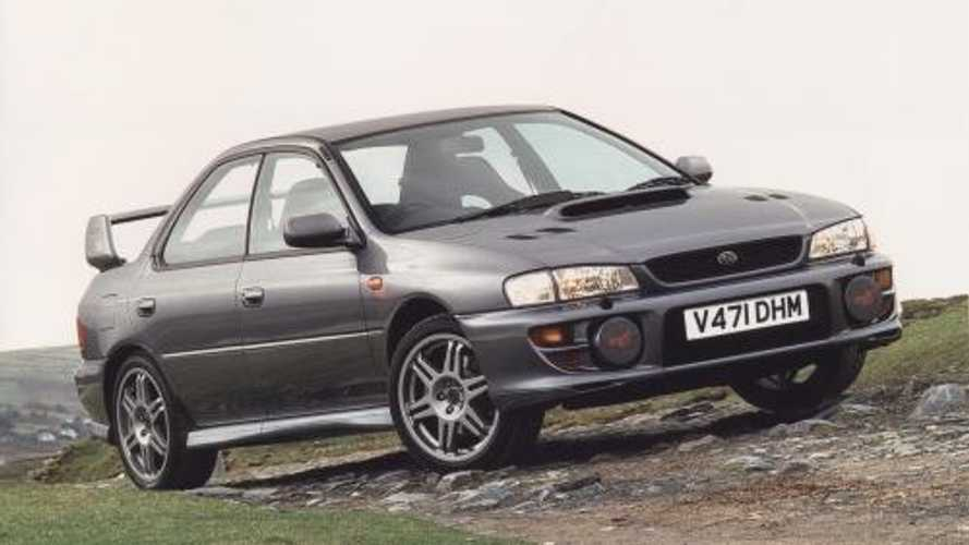 Going up! Subaru Impreza Turbo And WRX