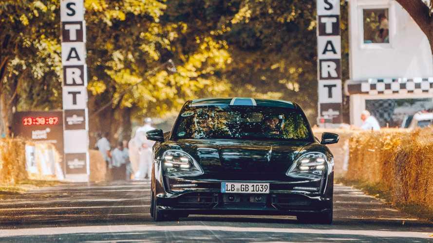 Porsche Taycan - Goodwood