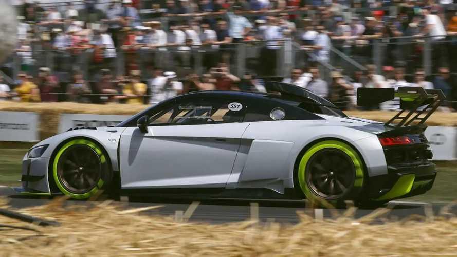 Audi'nin 630 beygirlik yarış otomobili R8 LMS GT2 tanıtıldı