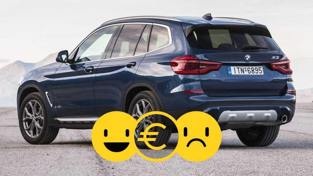 Copertina Promozione BMW X3 maggio