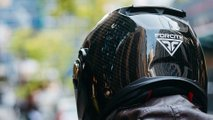 new smart motorcycle helmet forcite