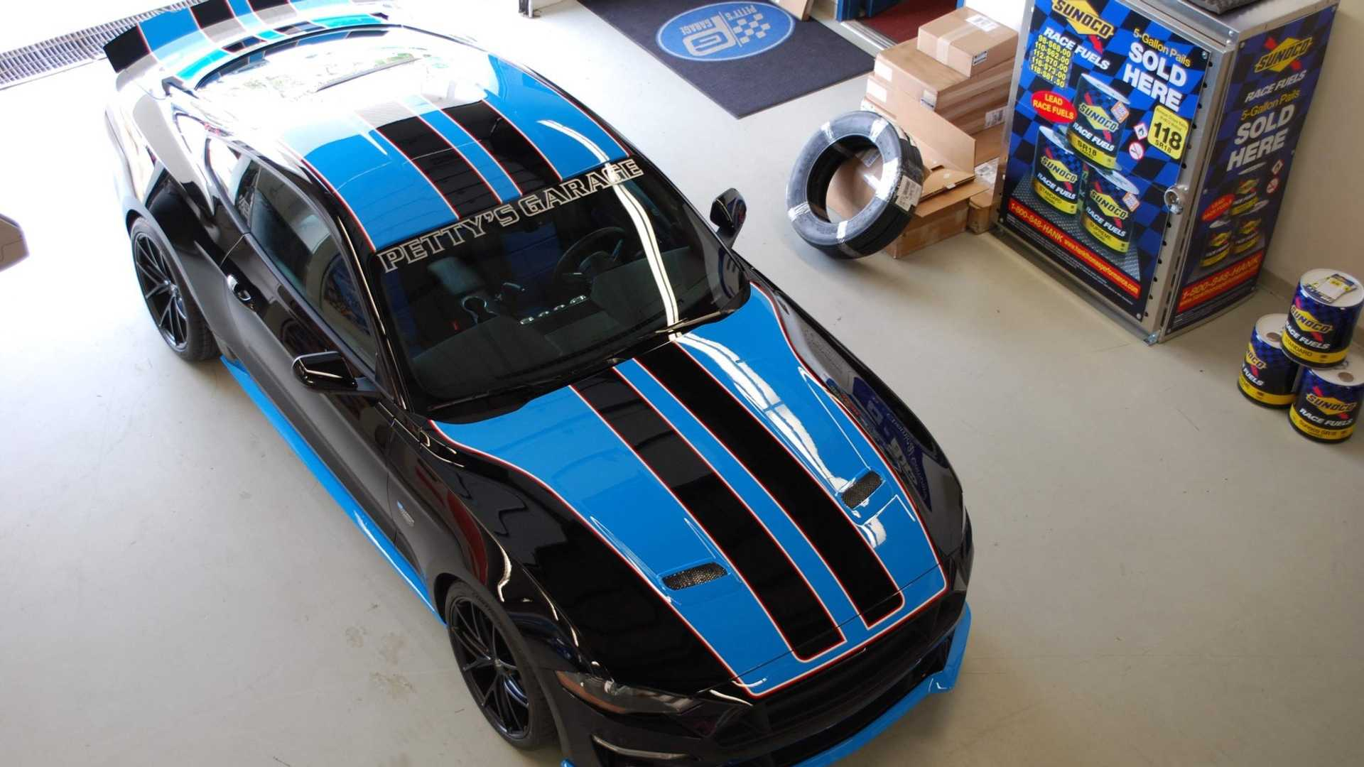"""[""""2019 Petty's Garage Warrior Mustang Available To Public""""]"""
