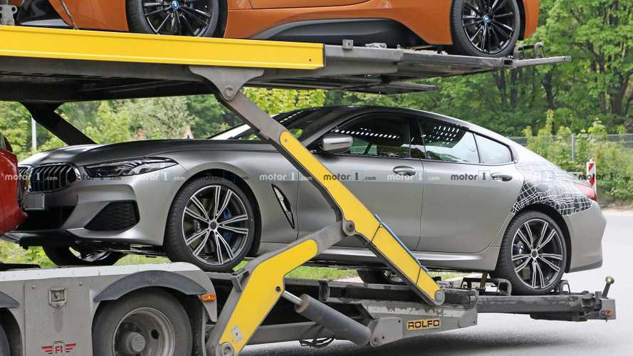 bmw 8 series gran coupe spied practically undisguised. Black Bedroom Furniture Sets. Home Design Ideas