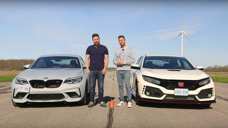 Drag Yarışı: BMW M2 Competition vs. Honda Civic Type R