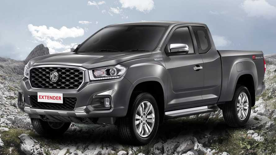 MG now makes a pickup truck called Extender