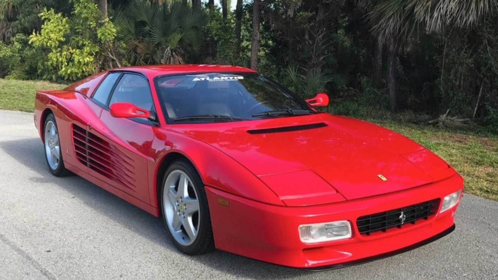 "[""1994 Ferrari 512 TR Makes Every Entrance Dramatic""]"