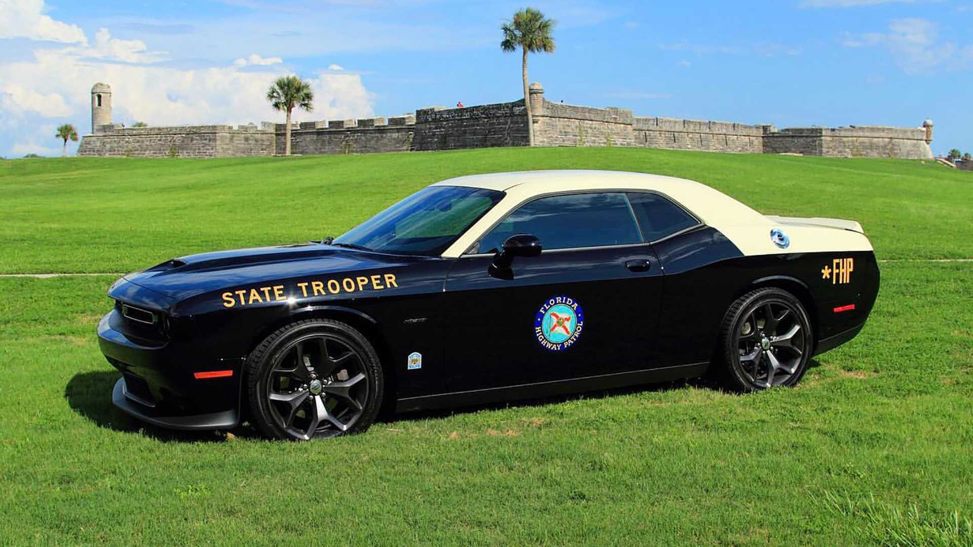 2019 Dodge Challenger Suits Up For Duty With Florida Highway