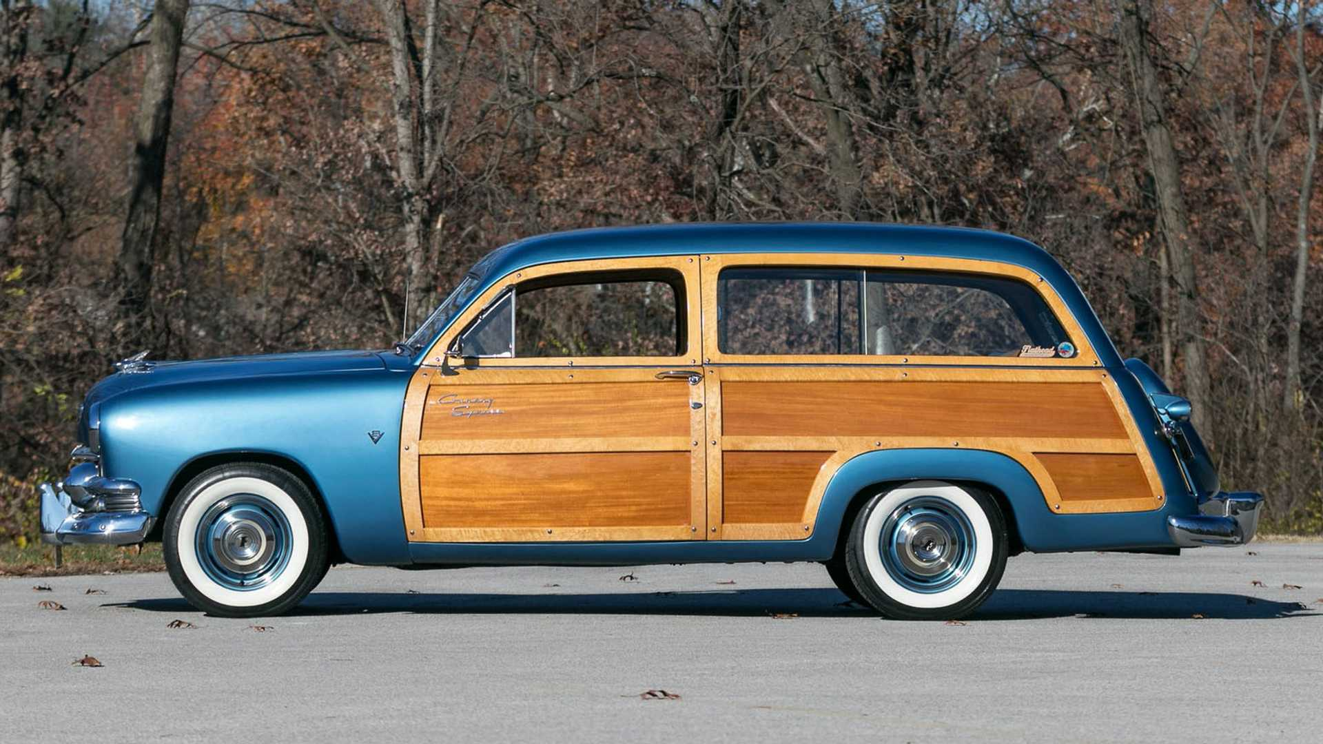 """[""""1951 Ford Country Squire Is A Wonderful Woody Wagon""""]"""